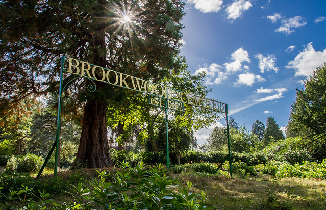 Brookwood Cemetery - established 1852