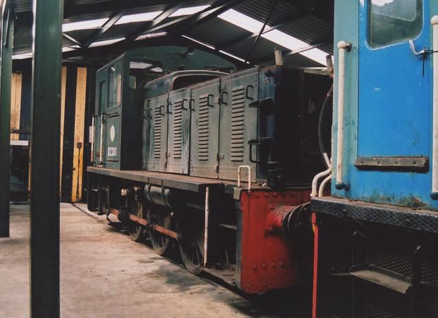 British Railways Green Class 03, D2381 & BR Blue 03196