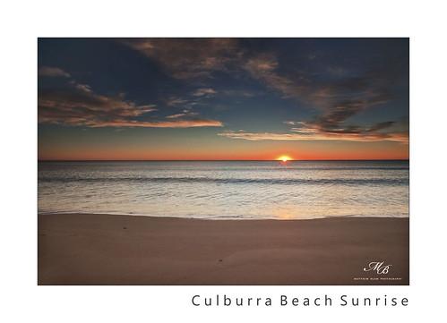 ocean beach sunrise bay coast pacific south nsw jervis austrlia shoalhaven culburra