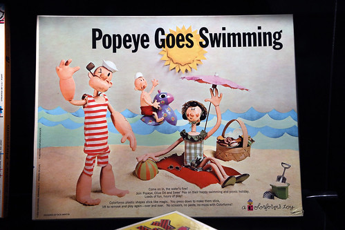 Popeye Goes Swimming Colorforms | by Jim, the Photographer