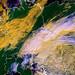 Družice NOAA – podle poledního snímku združice NOAA pokrývá výrazná vrstevnatá oblačnost většinu území, zmenšená oblačnost je jen na severozápadě Poznámka: Kdyby taková situace nastala vlistopadu, měli bychom na horách metr sněhu!