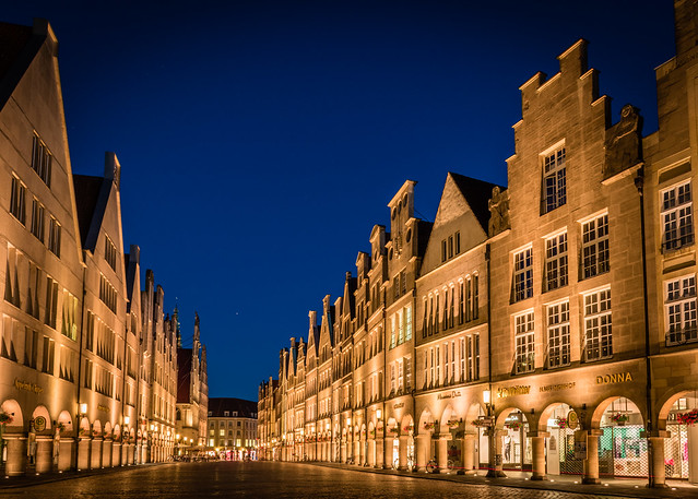 (Another) Blue Hour in Münster