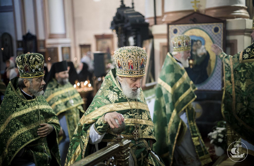 1 октября 2016, Литургия в Павловском соборе Гатчины / 1 October 2016, Liturgy in the Paul Cathedral of Gatchina