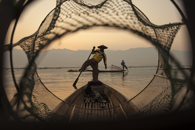 Bagan Fisherman