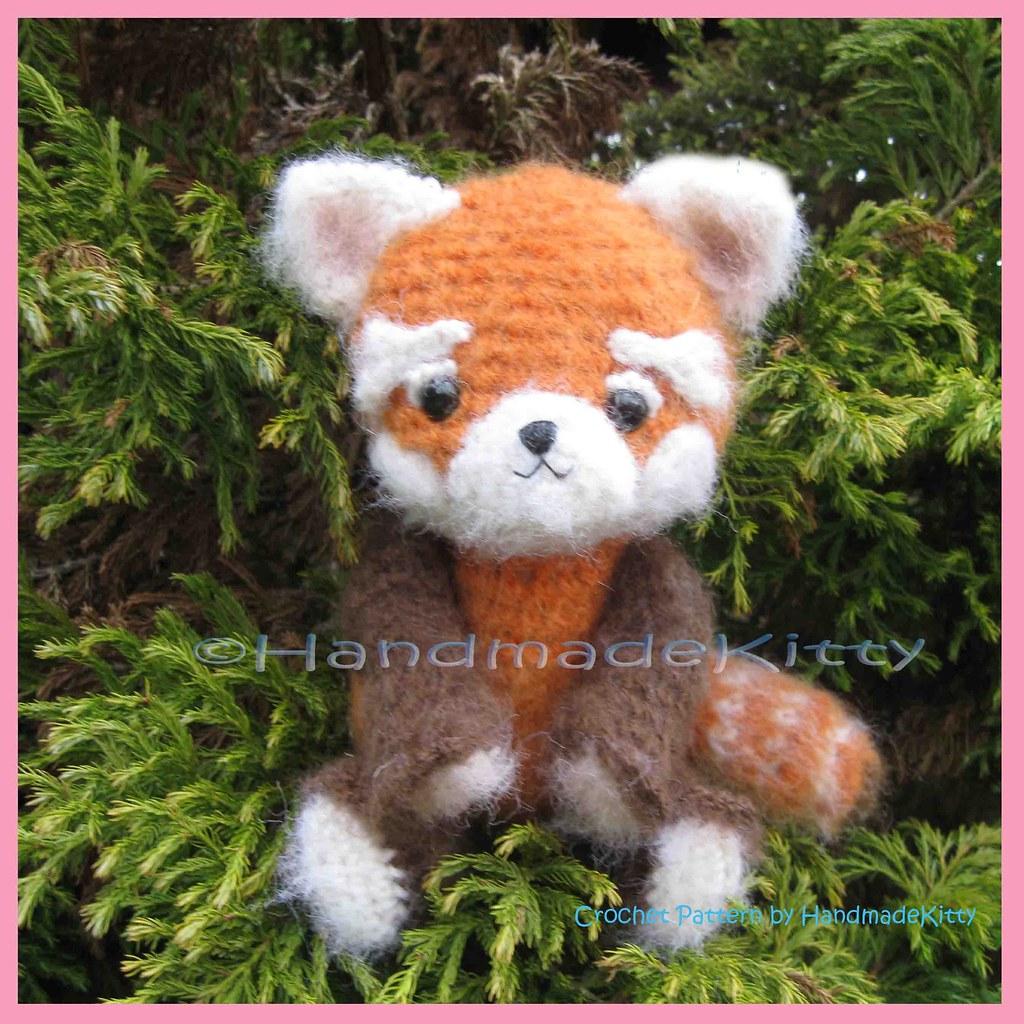 Boo the Panda amigurumi pattern by Hello Yellow Yarn | Tricot et ... | 1024x1024