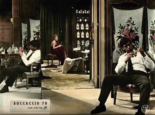 Thomas Milian & Romy Schneider in Boccaccio 70