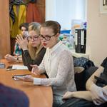 Апр 18 2018 - 16:27 - Студенты Литинститута Фото: Арина Депланьи