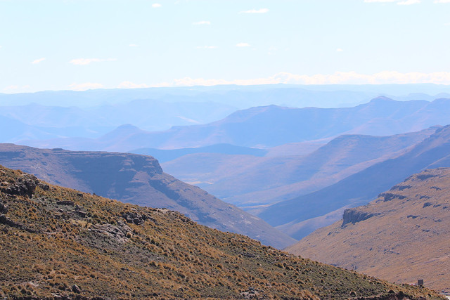 View across the top of the world, Lesotho