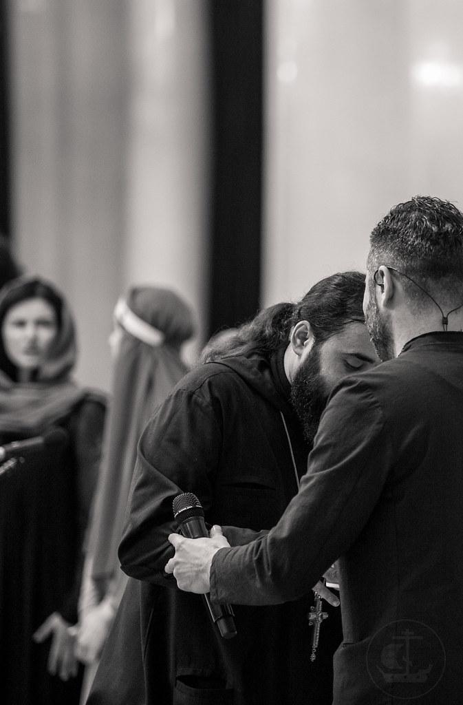 16 апреля 2018, Пасхальный концерт схиархимандрита Серафима (Бит-Хариби) в Большом зале филармонии им. Д.Д. Шостаковича / 16 April 2018, The Easter concert of Schema-Archimandrite Seraphim (Bit-Haribi) in the Saint Petersburg Philharmonia