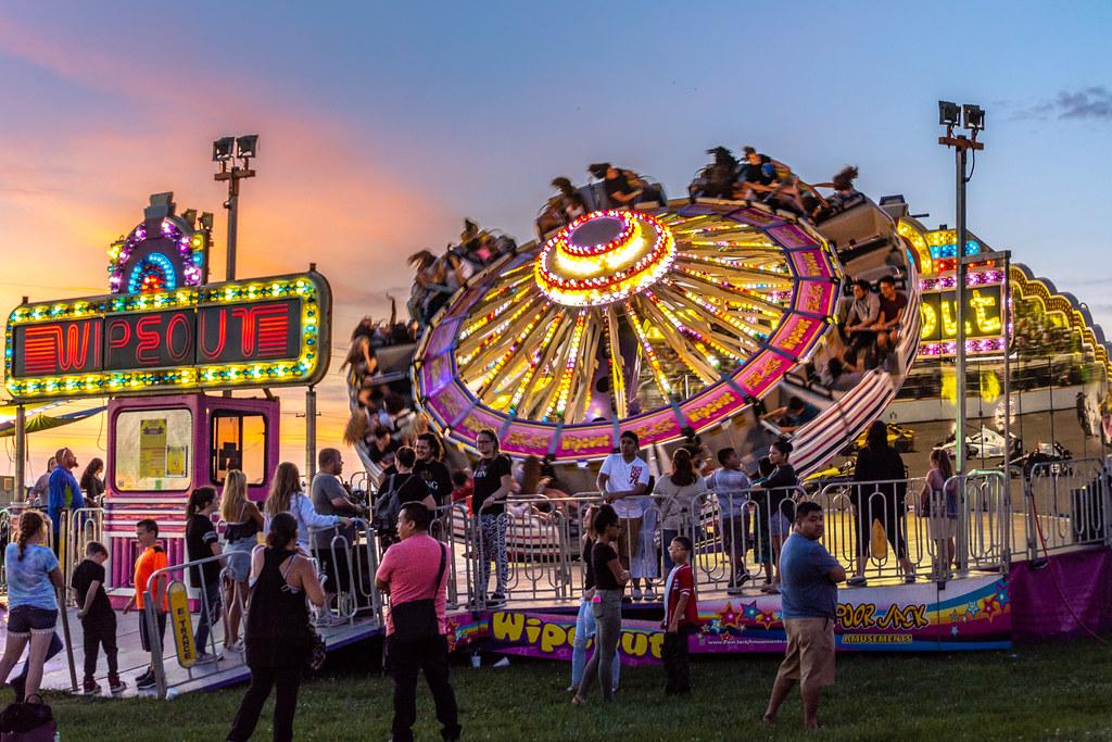 Wipeout! | 2018 Wayne County 4-H Fair, Richmond, Indiana | WayNet