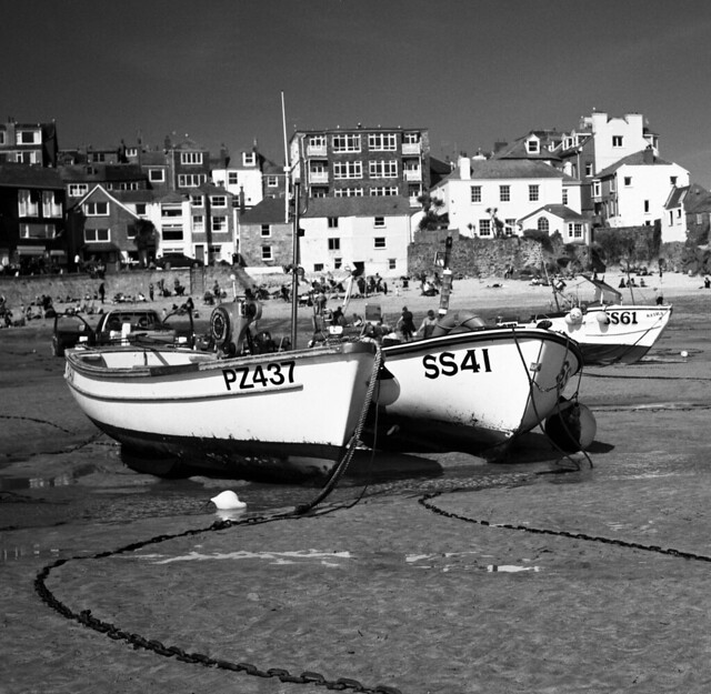 The harbour, St Ives, Cornwall, England