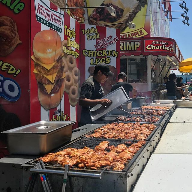 Love the smell of meat grilling at @SDFair. #latergram #grill #sdfair