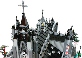 "LEGO "" Catholic church "" diorama. 