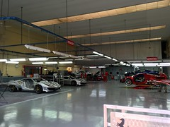 Ferrari Workshop at Maranello Italy