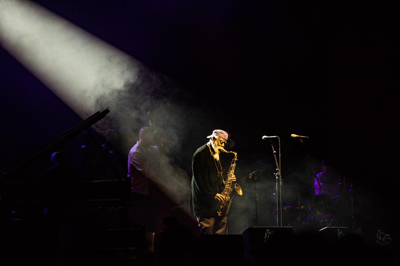 38 Pharoah Sanders Quartet with Nicolas Payton-7237