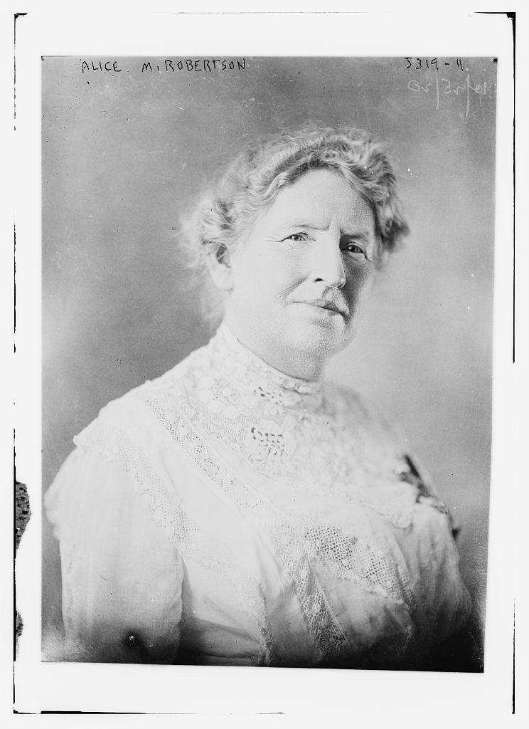 Alice M. Robertson (LOC)