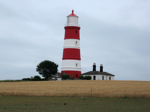 The lighthouse at Happisburgh