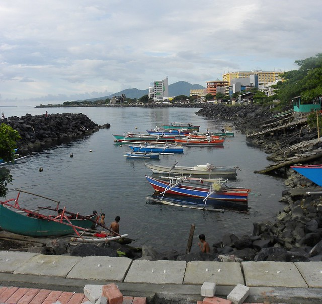 A cove in Manado, Northern Sulawesi, Indonesia - Бухточка в Манадо