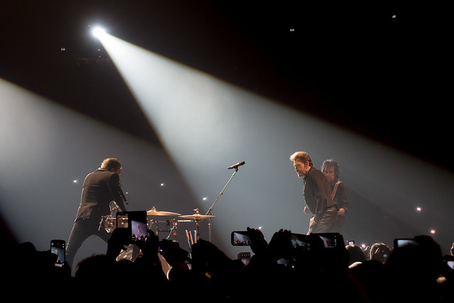 Johnny Hallyday - Rester Vivant - Bercy, Paris (2015)
