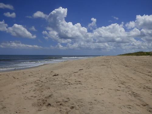 virginiabeach virginia backbaynationalwildliferefuge falsecapestatepark beach clouds waves