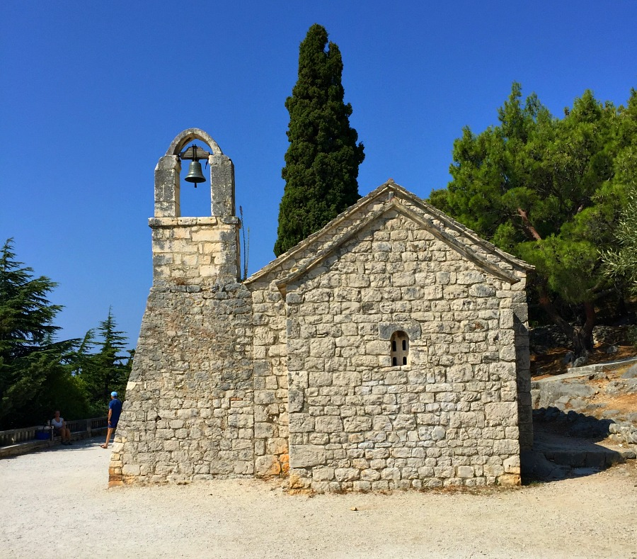 Split National Park Stone Church