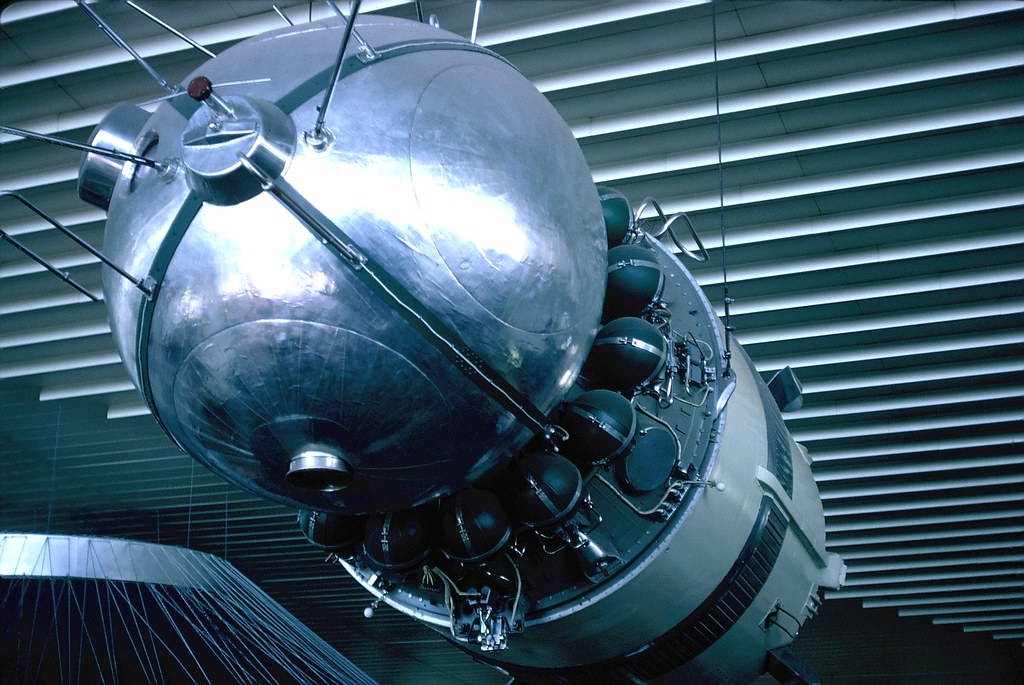 Montreal Expo 67 - USSR Pavilion - Vostok Replica