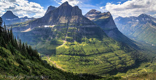 loganpass landscape usa montana color beautiful travel nationalpark scenic panorama glaciernationalpark outdoor america horizontal scenery mountain unitedstates us