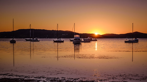 daybreak landscape sailboats nature australia tascott outdoor nswcentralcoast newsouthwales koolewong sun brisbanewater water scenery centralcoastnsw marina dawn photography nsw outdoors waterscape boats centralcoast sunrise bay