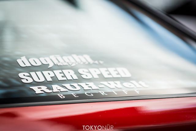 Garage Mak - Se★ki Motorsports Nissan 180SX [Fun ride sharing x Narita Dog Fight Car Meet 2016 at Fuji Speedway]