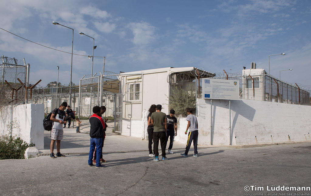 Lesbos: Camp Moria   //Non-commercial use by giving copyrigh…   Flickr