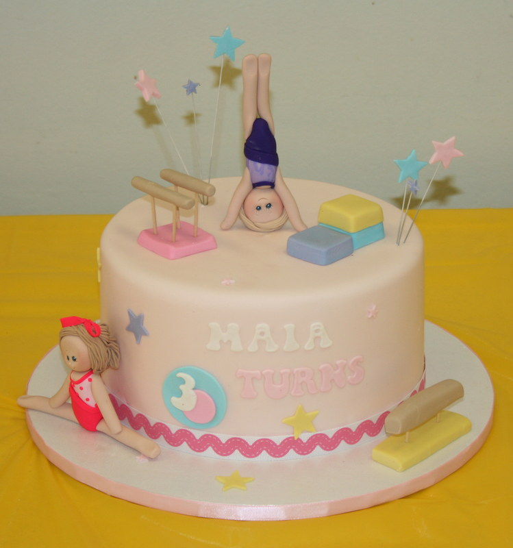 Wondrous Gymnastics Birthday Cake Sweet Tooth Cakes And Cupcakes Flickr Personalised Birthday Cards Bromeletsinfo