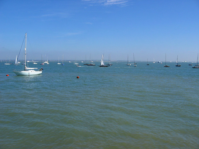 The Solent from Cowes