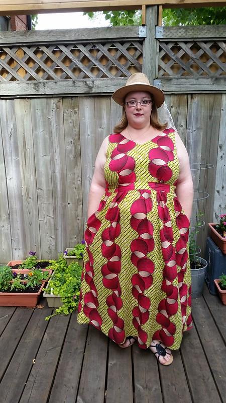 Upton maxi dress