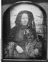 Elizabeth Snoswell, nee Holman, ca 1853, daughter of John and Melicent Holman.
