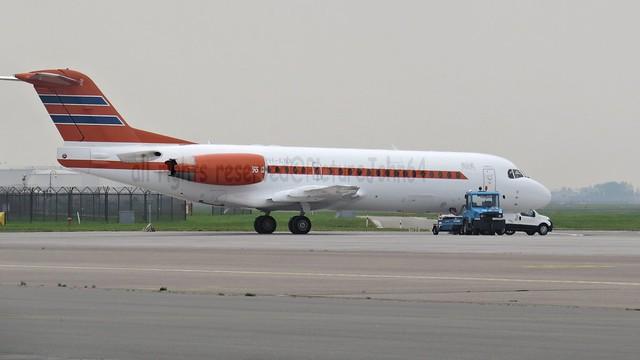 Dutch Government Fokker 70 (PH-KBX) at Schiphol East