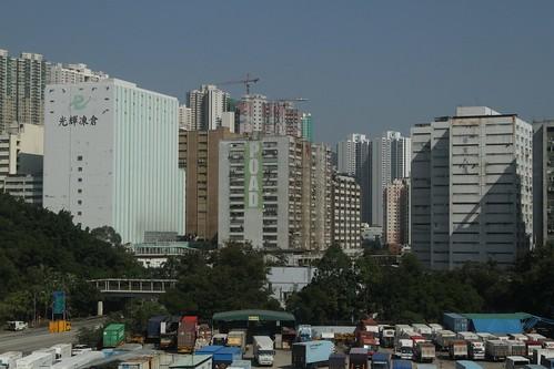 Multistorey industrial buildings in Kwai Chung