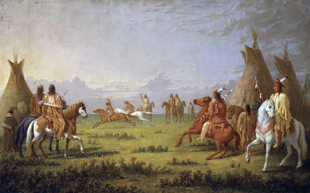 Indian Horse Race,