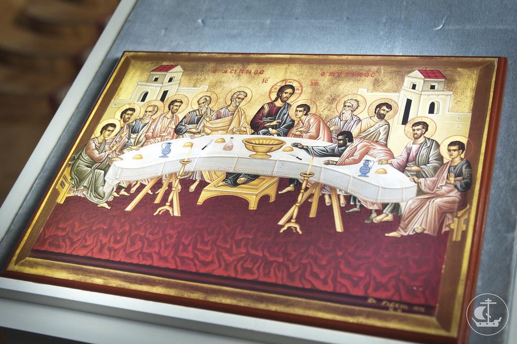 2 мая 2013, В храме академии совершены богослужения Великого Четверга