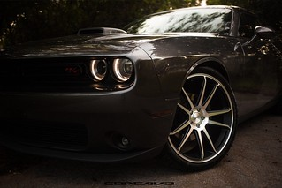 "Dodge Challenger on 22"" CW-S5 