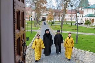 Литургия в Иверском монастыре  20