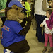 Cubbie Bear Visits Wednesday Night Live