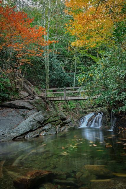 Skinny Dip Falls (Blue Ridge Parkway)