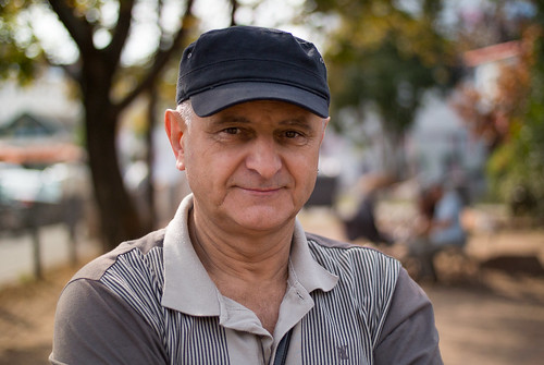 Portrait shot of an older man with baseball cap | by Ivan Radic