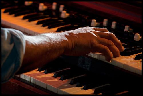 Ike Stubblefield  at WWOZ's Piano Night.  Photo by Ryan Hodgson-Rigsbee www.rhrphoto.com