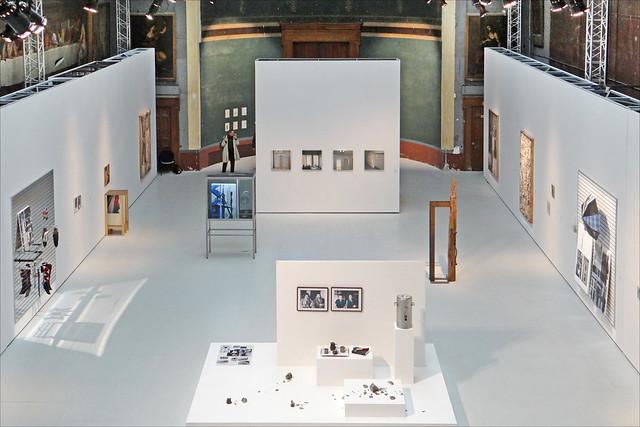 La grande salle d'exposition (palais des Beaux-Arts, ENSBA)