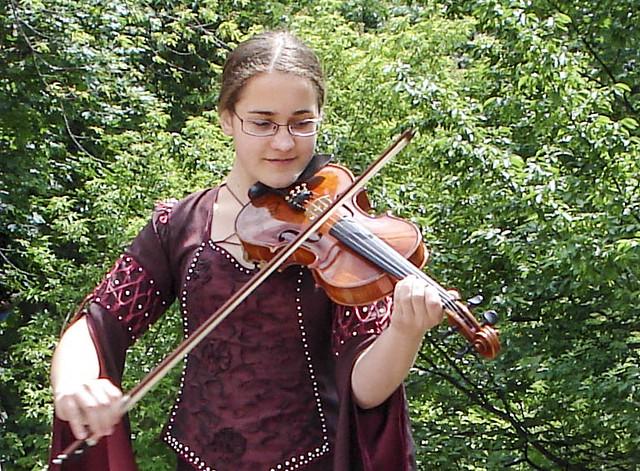 Young violist in Krakow