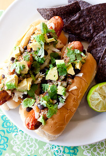 Tex-Mex Rancheros Hot Dogs | by Smells Like Home