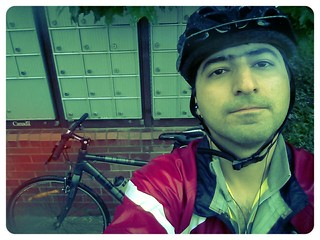 biking in the rain... not a good idea afterall