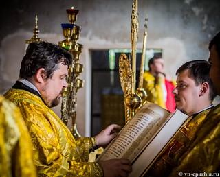 Литургия в Ильинском соборе 165