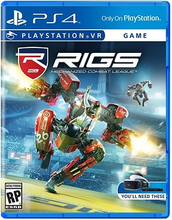 RIGS Mechanized Combat League Box Art | by PlayStation.Blog